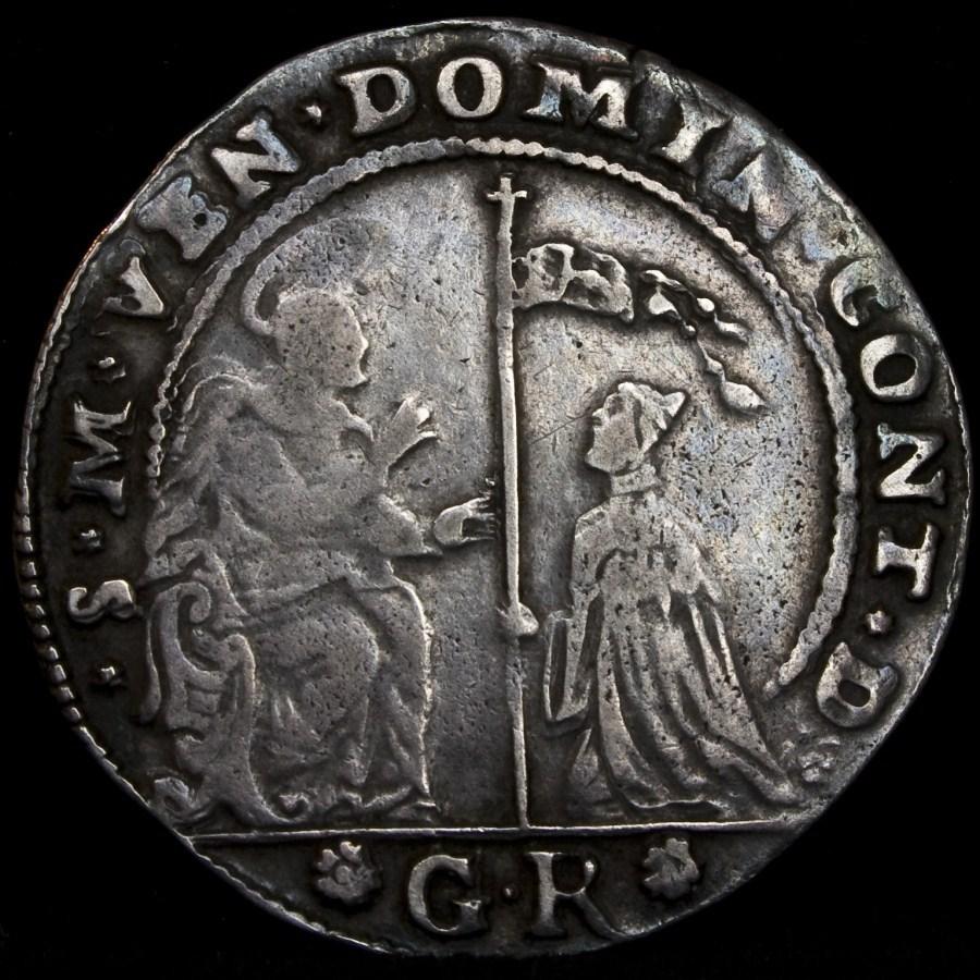 Domenico Contarini (1659-1675) Mezzo Ducato