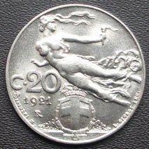 20 Centesimi 1921 Fdc.jpg