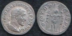 Massimino I, denario (Gaviller & Boyd collection)
