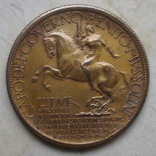 Buono da 2 Lire 1928 - Spl