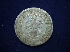 mezzo scudo stretto al torchio 1676 d.JPG