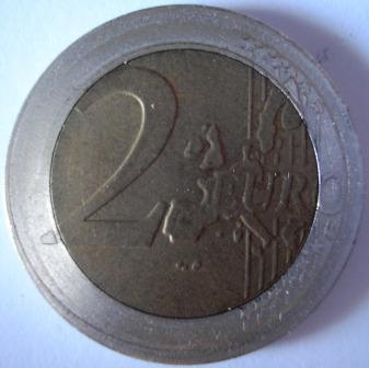 Francia 2 euro, dritto