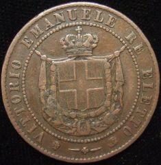 Governo Provvisorio Toscana, 5 centesimi 1859