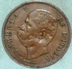 Regno d'Italia 5 Centesimi 1896