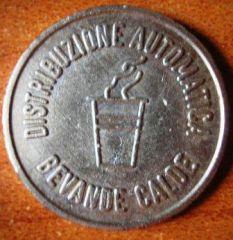 Gettone Sofib s.r.l. per bevande calde Udine, retro
