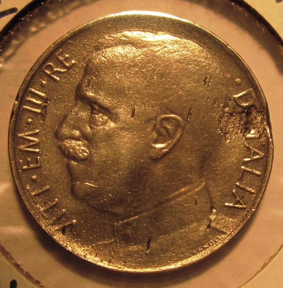 50 Centesimi  Leoni  1924  Liscio -  Obverse