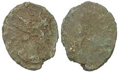 Tetrico (I o II, incerta). 725 esemplari dei Tetrici nell'hoard