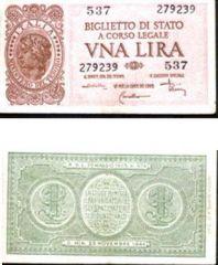 Una  Lira 1944