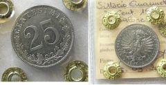 25 centesimi 1903