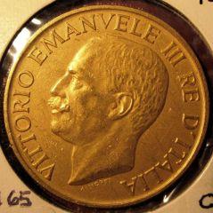 100 Lire 1923  Fascio        Obverse