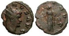 Gallieno, antoniniano, zecca di Siscia, R/PAX AVG