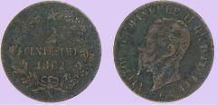2 Centesimi 1862