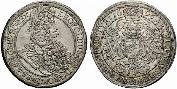Leopoldi I Tallero 1696 Kremnitz