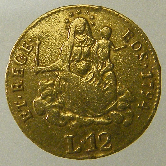 12 Lire 1794 D