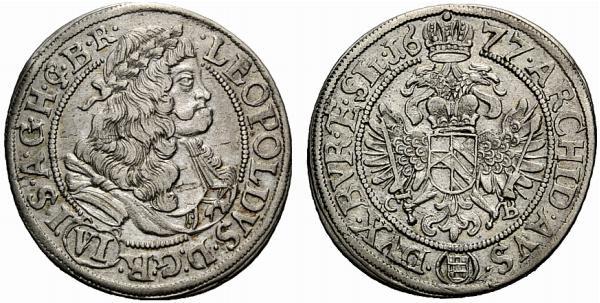 Leopoldo I - da VI Kreuzer 1677