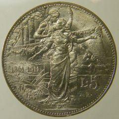 Scudo Cinquantenario 1911