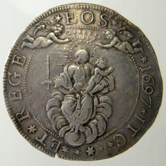 2 Scudi larghi 1697 D