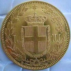 100 Lire 1883 Umberto I r
