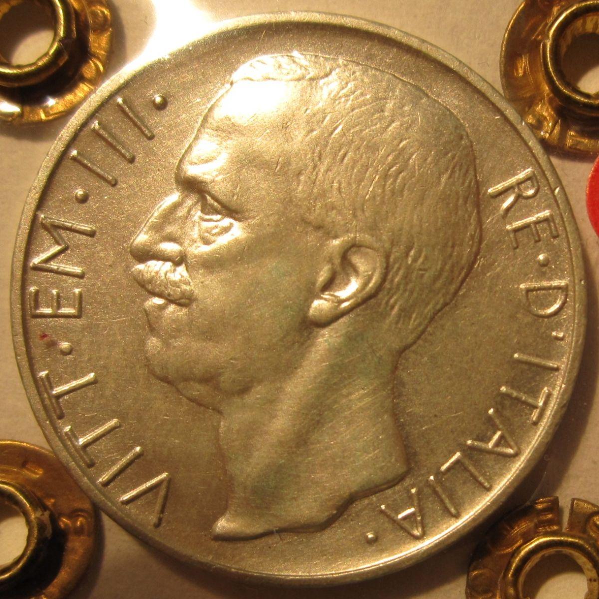 10 Lire 1930 R     Biga   Obverse