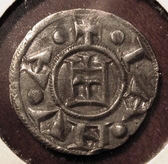 Genoa Silver Denaro  Republic 1139 1339   Reverse=