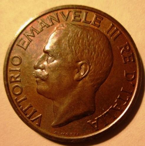 10 Centesimi 1932 Ape   Obverse