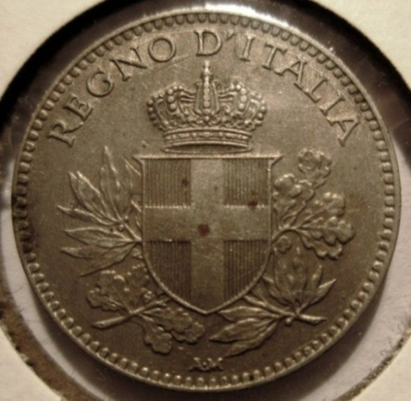20 Centesimi 1920 Esagono  Obverse