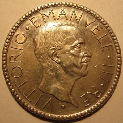 20 Lire 1928 R  VI Littore   Obverse=
