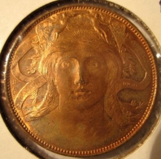 20 Centesimi 1928 Esposizione Milano   Obverse