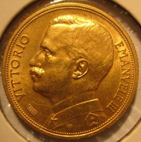 20 Lire 1912 R  Aratrice   Obverse