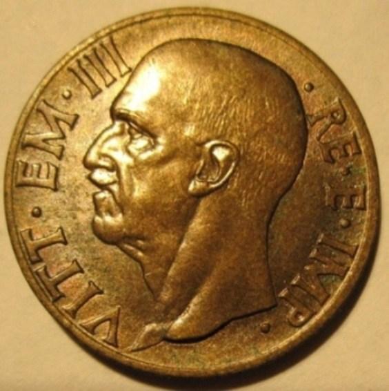 10 Centesimi 1939 Impero 2 Tipo   Obverse