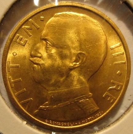 50 Lire 1931 R  Littore          Obverse