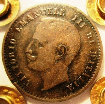 2 Centesimi 1907 R valore   Obverse=