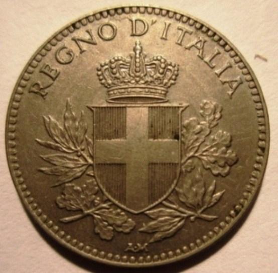 20 Centesimi 1919 Esagono Bordo Liscio Obverse