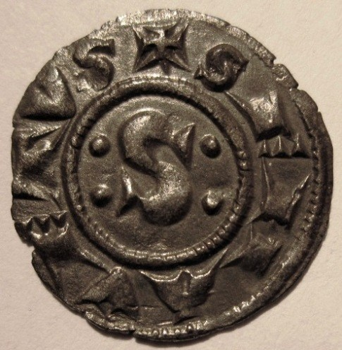 Siena Denaro XII   1390 MIR 484 2  Obverse