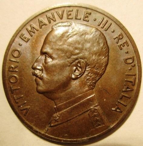 5 Centesimi 1912 R   Obverse=