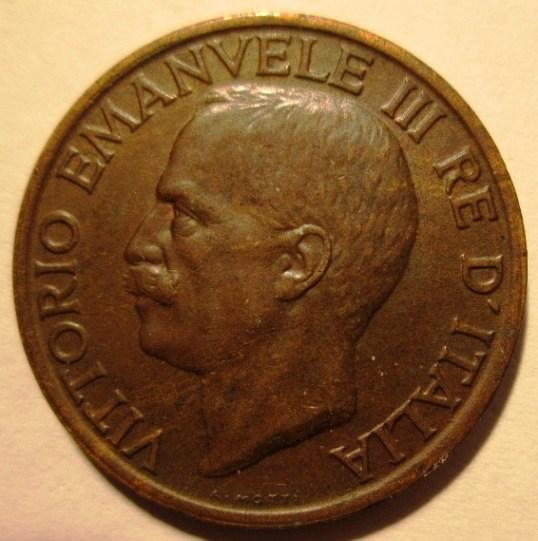 10 Centesimi 1919    Obverse