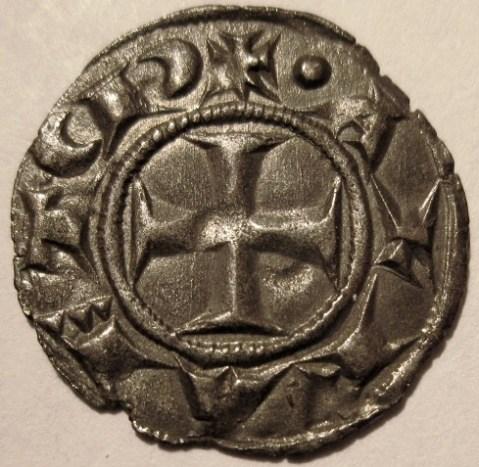 Siena Denaro XII   1390 MIR 484 2   Reverse