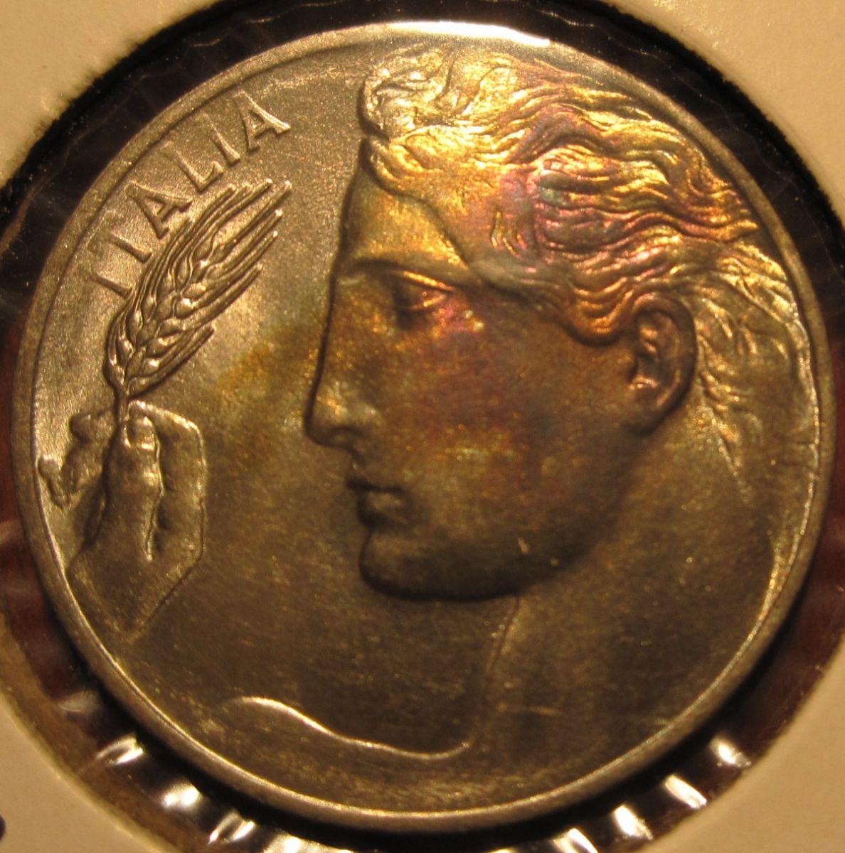 20 Centesimi 1914 Obverse