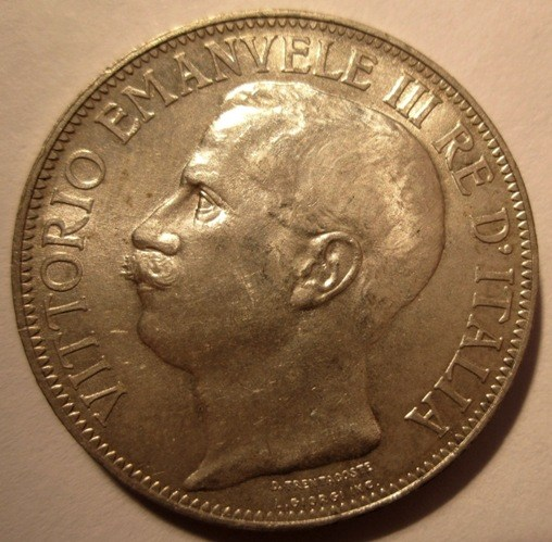 2 Lire 1911    Obverse