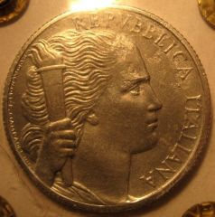 5 Lire 1946 R   Obverse