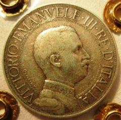 2 Lire 1910 R    Quadriga  Obverse