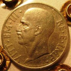 20 Centesimi 1936    Impero   Obverse=