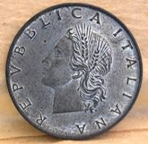 20 Lire 1983 R       Obverse       Metallo Bianco