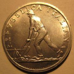 2 Lire 1946 R   Obverse