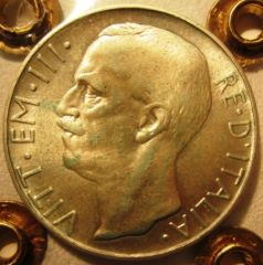 10 Lire 1926 R     Biga   Obverse