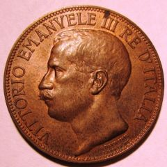 10 Centesimi 1911   Obverse