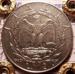 2 Lire 1942 R  Reverse=