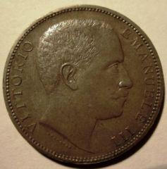 2 Lire 1905 Aquila Sabauda      Obverse
