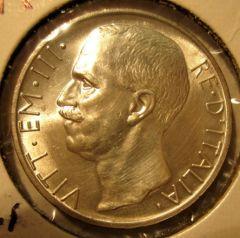 10 Lire 1927 R   Biga  Obverse=