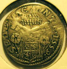 Giulio  Sede Vacante 1559   Reverse